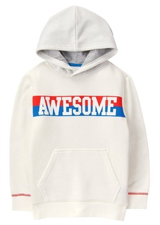 Crazy 8 Boys' Hooded Graphic Pullover  M