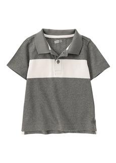 Crazy 8 Boys' Li'l Multi Stripe Short Sleeve Polo