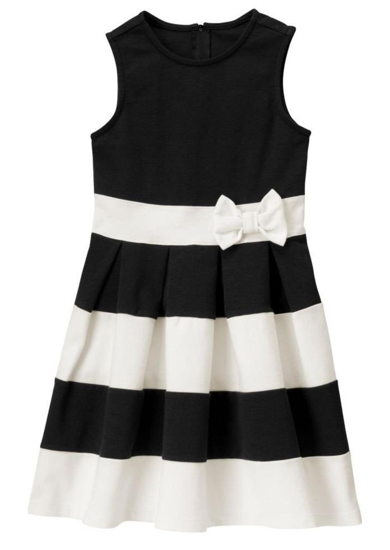 Crazy 8 Big Girls' Bow Ponte Dress