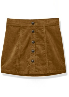 Crazy 8 Girls' Little Faux Suede Skirt Dexter TAN