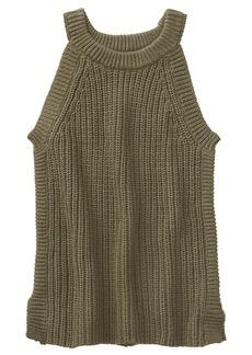 Crazy 8 Girls' Little Sleeveless Sweater Knit Tank  L