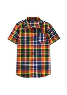 Crazy 8 Little Boys' His Short-Sleeve Button up Shirt  S