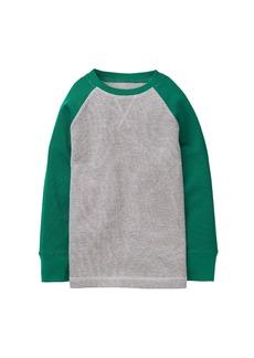 Crazy 8 Little Boys' Long Sleeve Colorblock Thermal Raglan Tee Heather Grey M