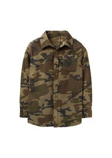 Crazy 8 Little Boys' Long Sleeve Flannel Shirt Jacket  XL