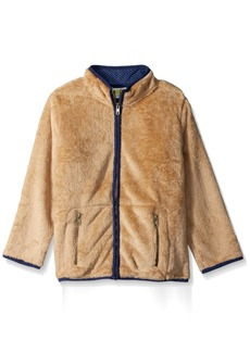 Crazy 8 Little Boys' Long Sleeve Fuzzy Fleece  S