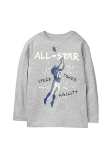 Crazy 8 Little Boys' Long Sleeve Graphic Tee  XS