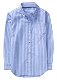 Crazy 8 Little Boys' Long Sleeve Pocket Button up Shirt  XL