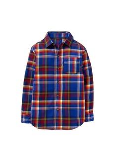 Crazy 8 Little Boys' Long Sleeve Woven Print Shirt  XL