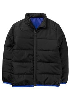 Crazy 8 Little Boys' Long Sleeve Zip Puffer Jacket  S