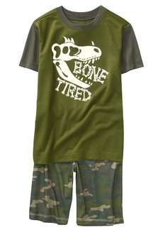 Crazy 8 Little Boys' Short Sleeve Fire Resistant Pajama Set  S