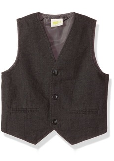 Crazy 8 Little Boys' Textured Dressy Vest Multi S