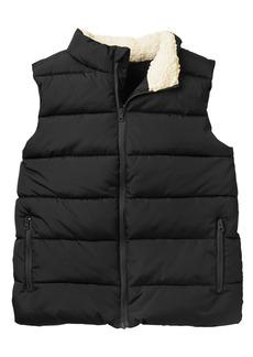 Crazy 8 Little Boys' Zipper Pocket Modern Puffer Vest  XL