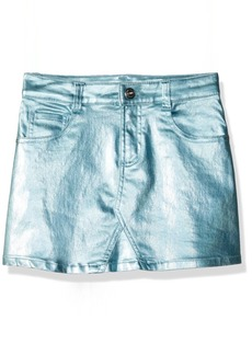 Crazy 8 Girls' Little -Pocket Metallic Skirt