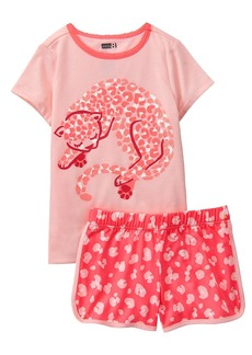 Crazy 8 Little Girls' 2-Piece Pajama Set  L