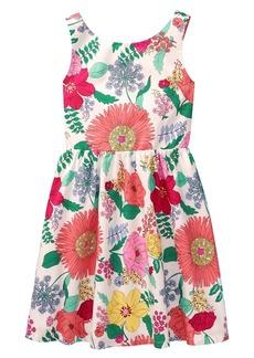 Crazy 8 Little Girls' Big Sleeveless Dressy Woven Dress