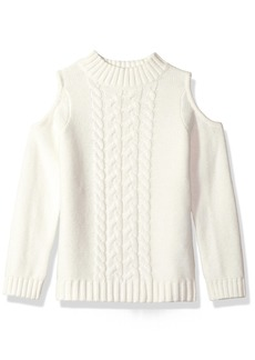 Crazy 8 Little Girls' Cut-Out Sweater Top  M