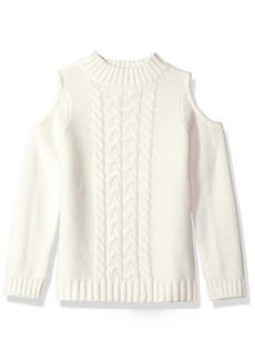 Crazy 8 Little Girls' Cut-Out Sweater Top  S