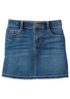 Crazy 8 Little Girls' Denim Button Front Skirt