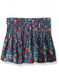Crazy 8 Little Girls' Floral Pleated Skirt  S