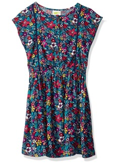 Crazy 8 Little Girls' Floral Print Dress Multi