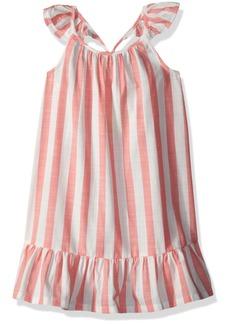 Crazy 8 Little Girls' Flutter Sleeve Woven Dress  XS