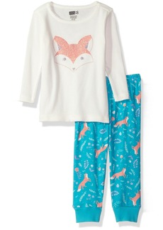 Crazy 8 Little Girls' Her Li'l Long Sleeve Pajamas