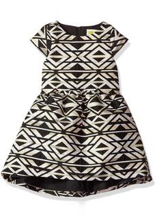 Crazy 8 Little Girls' Jacquard Dress Multi