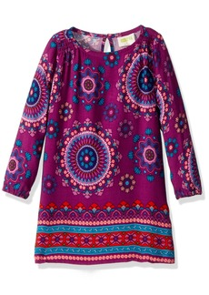 Crazy 8 Little Girls' Long Sleeve Printed Dress