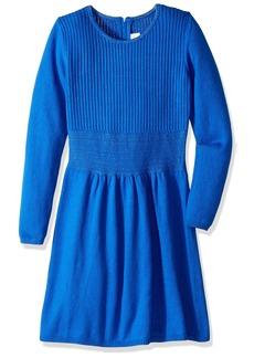Crazy 8 Little Girls' Long Sleeve Sweater Dress  L
