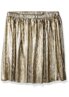 Crazy 8 Little Girls' Metallic Pleated Skirt  XS
