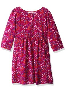 Crazy 8 Little Girls' Printed Button Front Dress Multi