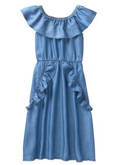 Crazy 8 Little Girls' Ruffle Off-The-Shoulder Dress