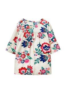 Crazy 8 Little Girls' Ruffle Sleeve Woven Dress  XS