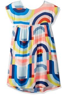 Crazy 8 Little Girls' Short Dolman Sleeve Woven Dress  XS