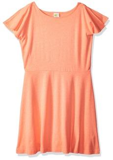 Crazy 8 Little Girls' Short Split Sleeve Knit Dress  L