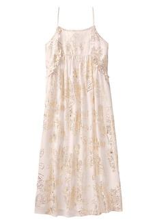 Crazy 8 Little Girls' Sparkle Floral Midi Dress