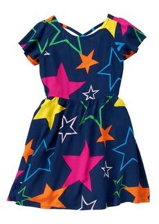 Crazy 8 Little Girls' Stars Dress Multi