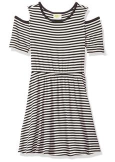 Crazy 8 Little Girls' Stripe Knit Dress Multi M
