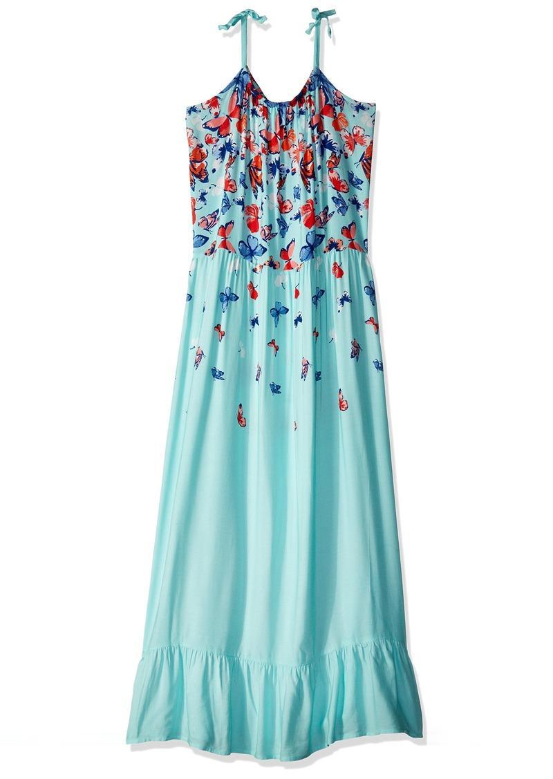 aca3957f6fb4 Crazy 8 Crazy 8 Little Girls' Tie-Strap Woven Maxi Dress L | Dresses