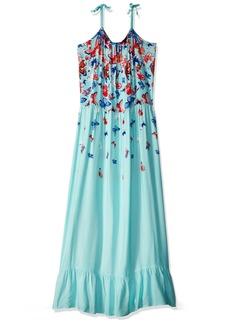 Crazy 8 Little Girls' Tie-Strap Woven Maxi Dress  XS