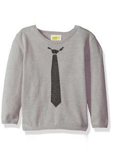 Crazy 8 Toddler Boys' Faux Tie Pullover Sweater