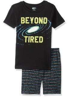 Crazy 8 Toddler Boys' His Li'l Short Sleeve Pajama Set  3Y