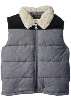 Crazy 8 Toddler Boys' Sherpa Collar Vest  18-24 Mo