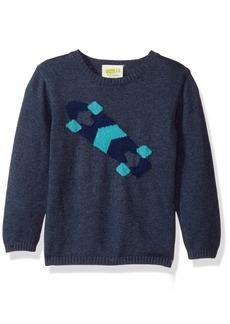 Crazy 8 Toddler Boys' Skateboard Pullover Sweater
