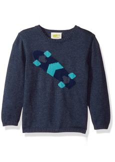 Crazy 8 Toddler Boys' Skateboard Pullover Sweater
