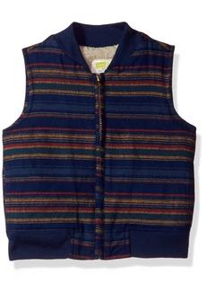 Crazy 8 Toddler Boys' Stripe Zip-up Vest Multi