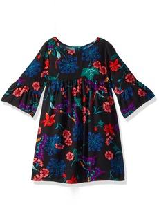 Crazy 8 Toddler Girls' Butterfly Bell Sleeve Dress  6-12 Mo