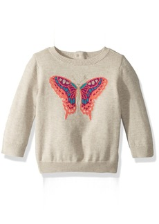 Crazy 8 Toddler Girls' Butterfly Icon Sweater  18-24 Mo