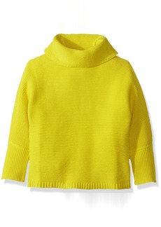 Crazy 8 Toddler Girls' Chunky Knit Turtleneck Sweater