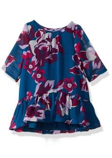 Crazy 8 Toddler Girls' Floral Chiffon Dress  T